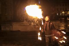 Spitting fire - Part II - lviv (srvmusti) Tags: spitfire donotspit spittingfire girlandfire spitflame