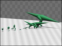 bbc dinosaur race Tyrannosaurus still pwns most humans. Featuring emu, ostrich, human, compsognathu, tyrannosaurus