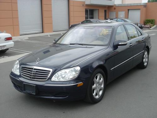 2004 Mercedes Benz S500 4MATIC