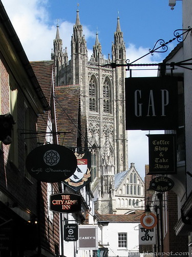 Canterbury Cathedral's Bell Tower