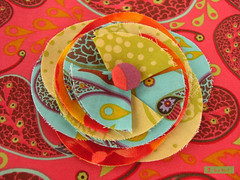 Knitting Needle Roll (sew-mad) Tags: sewing nhen fabricflower stoffblume dawanda sewmad