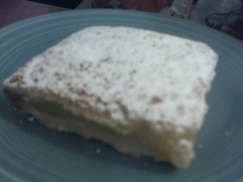 Lemon Bar at Pink Rose Pastry