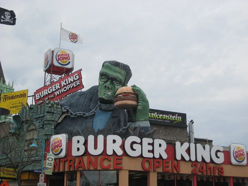 Frankenstein Burger King