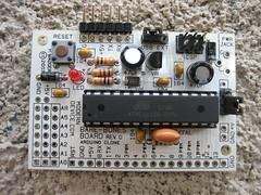"""""""Arduino"""" Bare-Bones Board"""