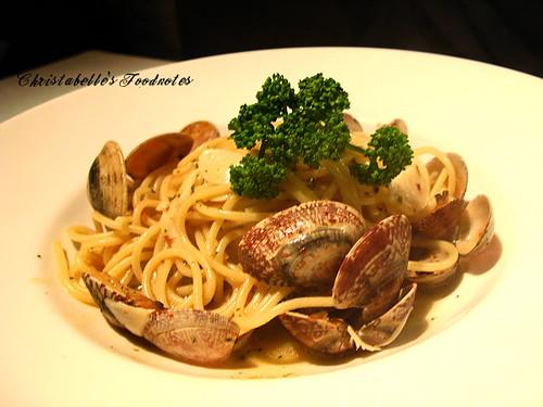 月之義大利白酒蛤蜊長麵