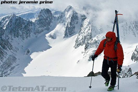 Steve Romeo summits Gannett Peak