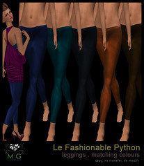 [MG fashion] Le Fashionable Python - leggings