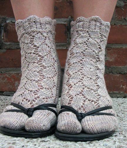 Tabi Socks from Knitting Classic Style