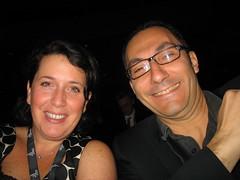 Vanessa Ghez et Herve Kabla en leger différé de la DevCon 2008 Palais des Congres