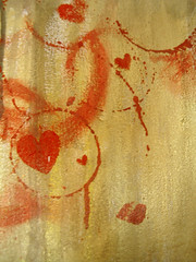 .da circle of gold heart. (Petite Poupe7) Tags: inspiration love work painting circle gold heart amor or coeur peinture canvas amour corao job myjob amore crculo pintura ouro toile tela restaurao construo lovah reproduo produo inspirao goldheart reconstruo pp7 petitepoupe7 coraodeouro coeurdor