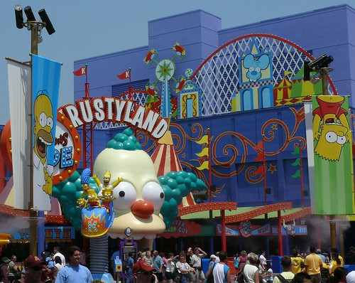 Universal Studios Simpsons Ride