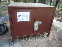 Bear Proof Food Locker
