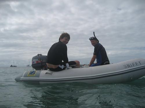 Prepare to snorkel Low Islet