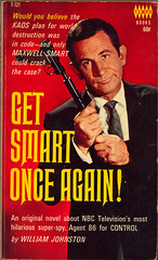 Get Smart Once Again! (Lushie Peach) Tags: tv bookcover maxwellsmart barbarafeldon donadams getsmart