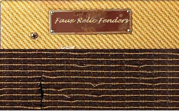 Faux Relic Fenders