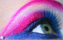 Day 207 of 365 (wisely-chosen) Tags: pink blue selfportrait macro eye me colorful makeup july 2008 rhinestone picnik falseeyelashes 365days drhauschkablackeyelinerpencil drhauschkablackliquideyeliner drhauschkablackmascara manicpanichothotpink mineralglowshimmerypowder37bluesubmarine mineralglowshimmerypowder39fuschiafusion mineralglowshimmerypowder13whitediamond mineralglowshimmerypowder47royalblue