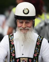 oldschool (J. Weissmahr) Tags: old bike beard helmet bikes oldman oldschool bmw helm bmwmotorrad aplusphoto excapture bmwmotorraddays2008 motorraddays2008