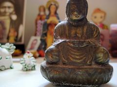 little buddha (parttimefarm) Tags: brasil desk buddha room chacara echapora tialu
