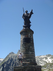 Me and Saint Bernard