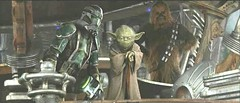 Clone Yoda Chewbacca