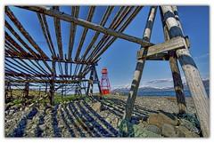 Lighthouse - Different Foreground (aevarg) Tags: lighthouse iceland nikond70 hdr viti photomatix digitalblending sigma1020 singleraw hjallar mywinners norurland 1exphdr varg damniwishidtakenthat
