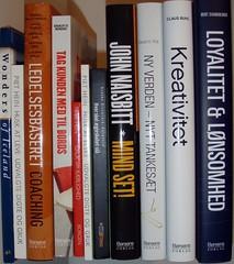 Bøger der er læst ved halvårsskiftet