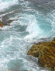 Even surf loses it's direction now and then.... (ShawnXian (Busy Healing!)) Tags: world ocean life ca love nature water ilovenature flow hope rocks circles wave loveit pacificocean pebblebeach 17miledrive swirl montereycounty circular shawnxian japanesepainting nearthelonecypress