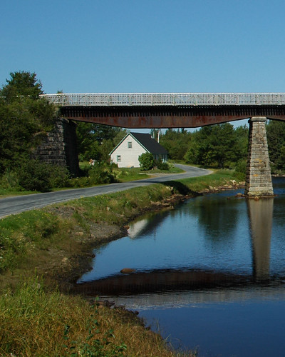 Road along East River, NS