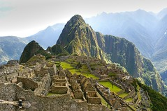 Machu Picchu - vista clásica