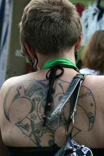 steampunk tattoo | Flickr - Photo Sharing!