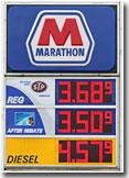 Marathon price