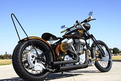 Old Skool Bobber (BRASS BALLS BOBBERS) Tags: street balls motorcycles pro biker chicks custom brass sleds choppers bobbers