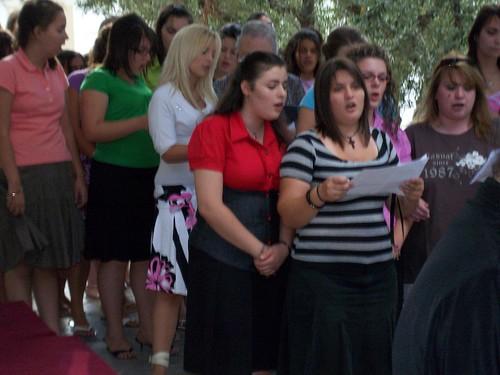 Kατασκήνωση Κοριτσιών-Πανήγυρις Αγ.Παρασκευής 2008