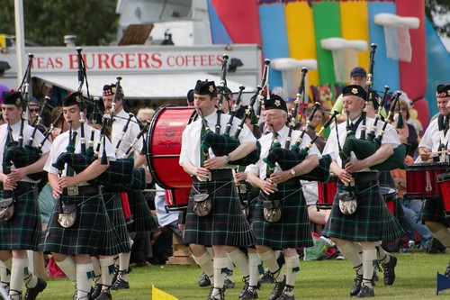 Kirkwall City pipe band (3)