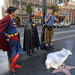 Superman, Batman and Jesusman discussing the corpse found on Irwin Winkler's star on Hollywood Boulevard [v.2]