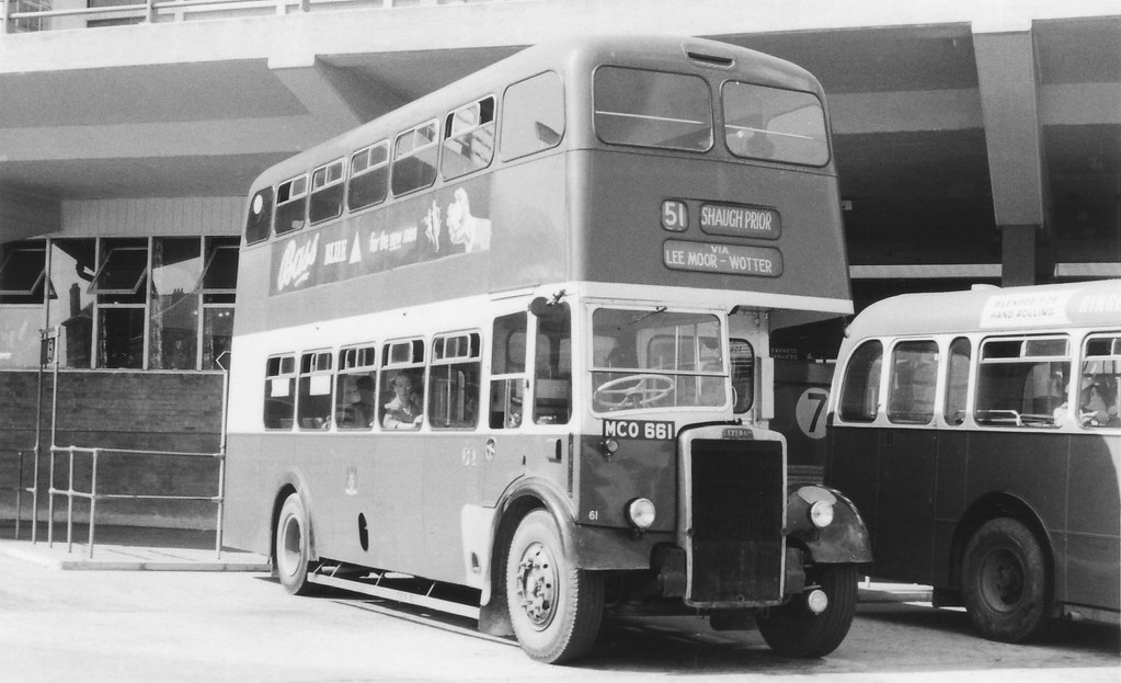 Plymouth City Transport No.61 (MCO661) Plymouth (by Richie B.)