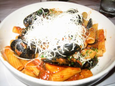 Rigatoni Con Cozze at Francesca's