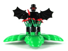 In the garden of evil (Karf Oohlu) Tags: rose lego thorn vignette batwings duplo gardenofevil
