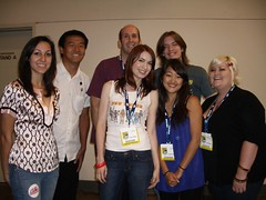 Guild cast with fans