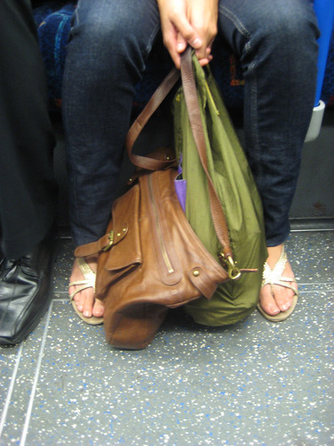 Onya Bag on the Tube