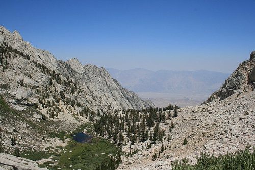 View from Mt. Whitney