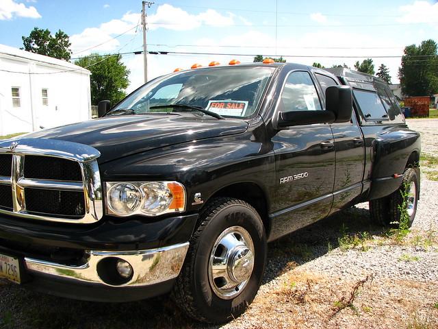 black truck shiny forsale dodge ram 3500 cumminsturbodiesel
