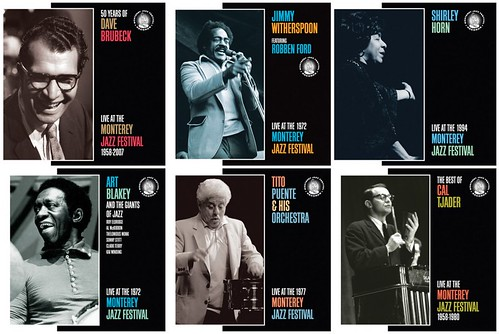 Monterey Jazz Festival Records New Releases