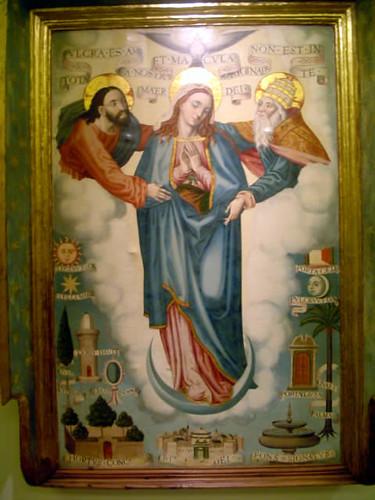 Tabla de la Virgen