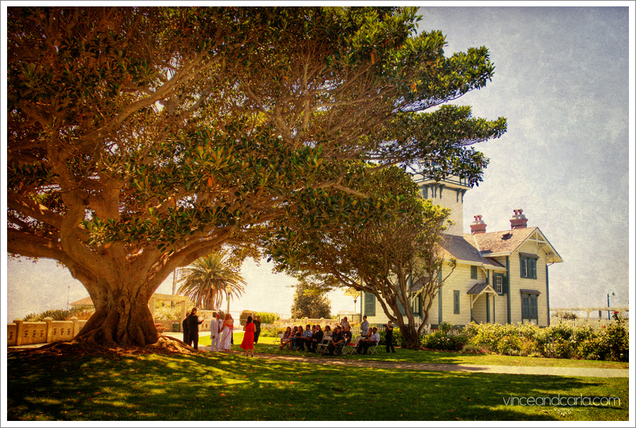 Wedding Photography by Vince and Carla | Point Fermin Park Wedding ...