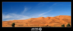(A.Alwosaibie) Tags: trees light sky cloud man green yellow photo sand nikon desert uae picture spot 1855mm vr hatta  d60           mywinners  impressedbeauty  goldstaraward
