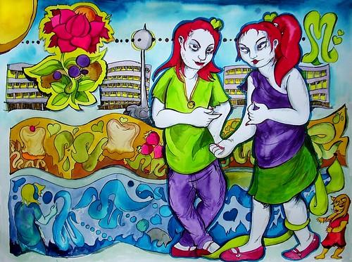 marquez girls - twins