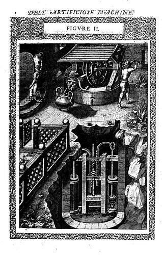01- máquina con la que podemos sacar agua de un pozo, con la ayuda de un hombre