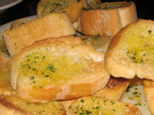Mmmm, garlic bread.