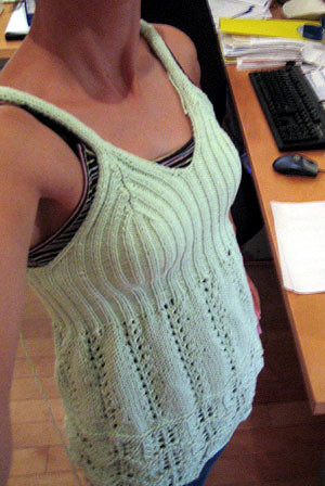 Ribs and Lace Tank